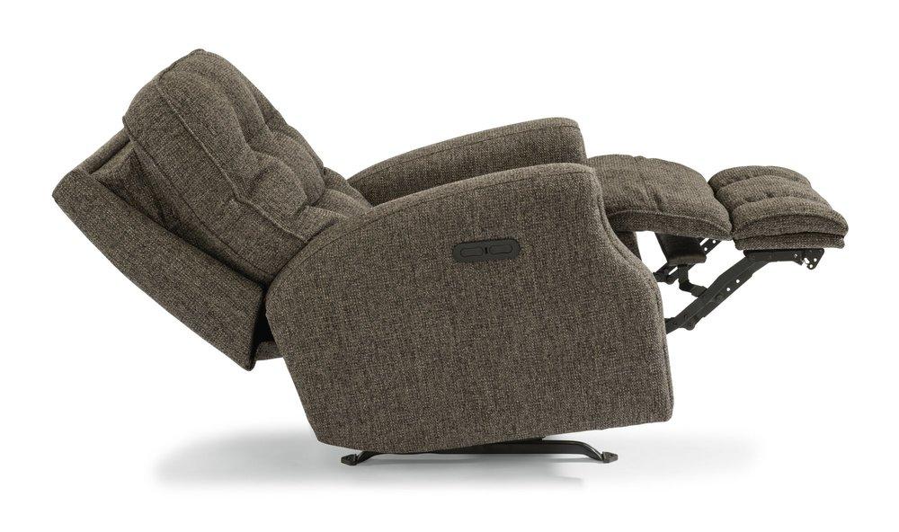 Flexsteel - Power Recliner with Power Headrest