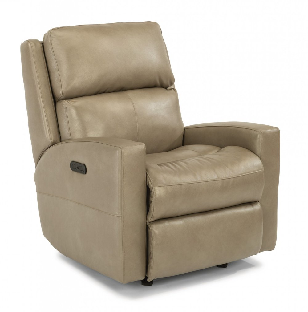 Flexsteel - Power Rocking Recliner with Power Headrest