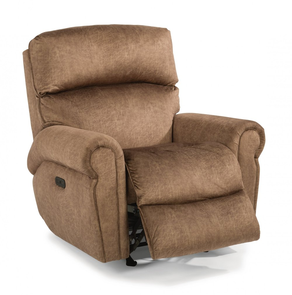 Flexsteel - Power Recliner w/ Power Headrest