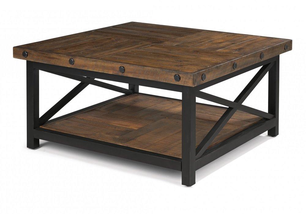 Flexsteel - Square Cocktail Table