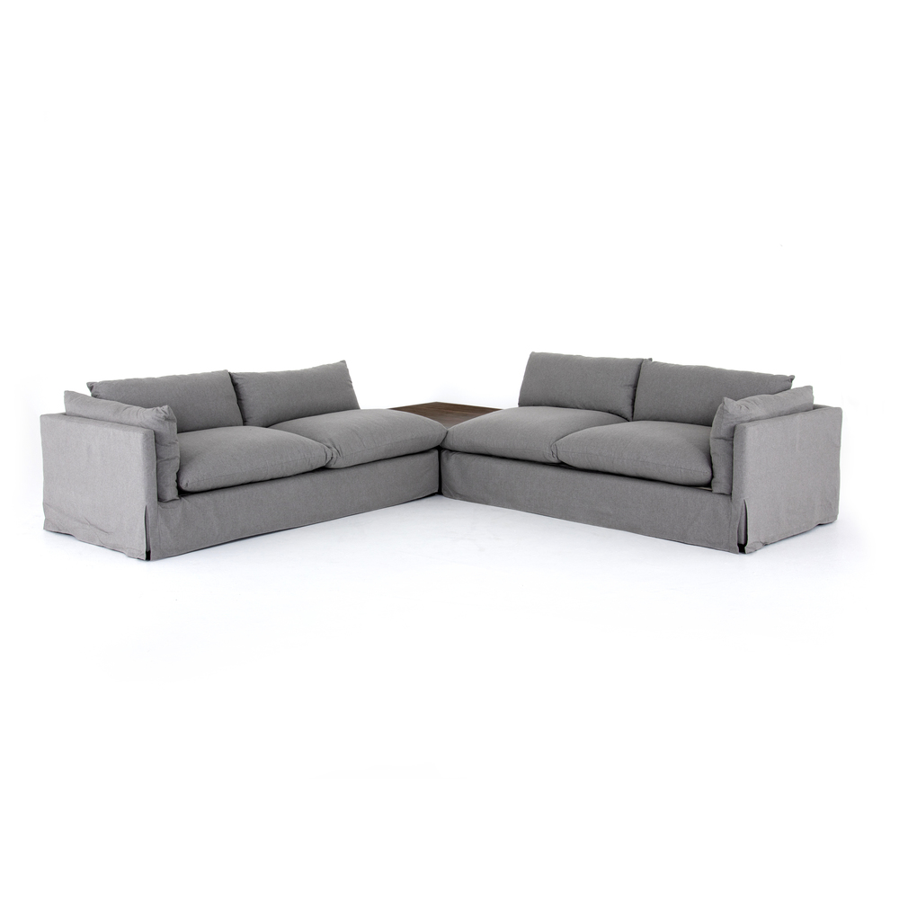 Four Hands - Habitat Two piece Sectional with Corner Table