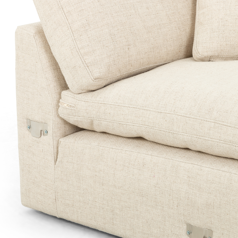 Four Hands - Plume Two Piece Sectional Right Arm Facing Chaise