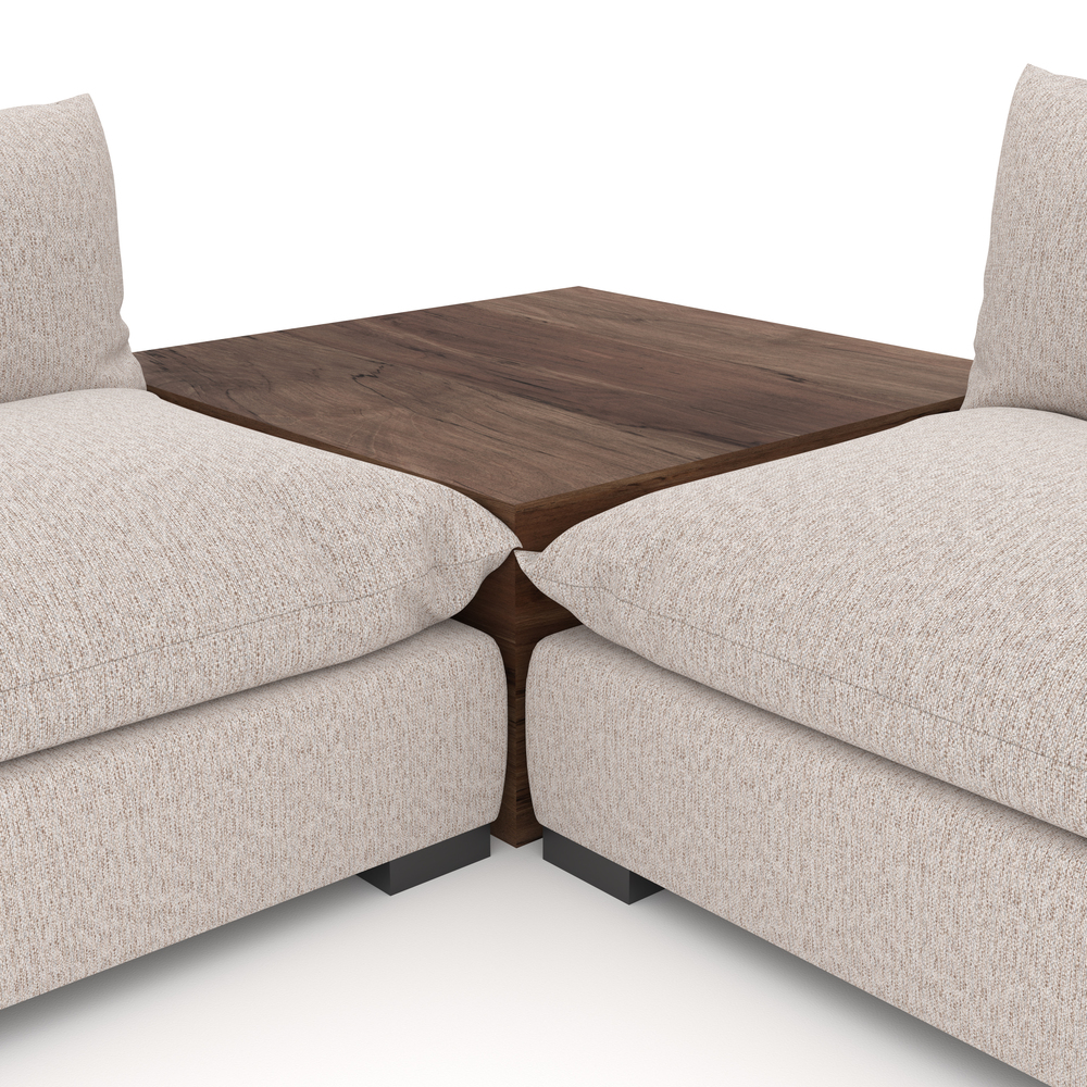 Four Hands - Westwood Four Piece Sectional with Corner Table