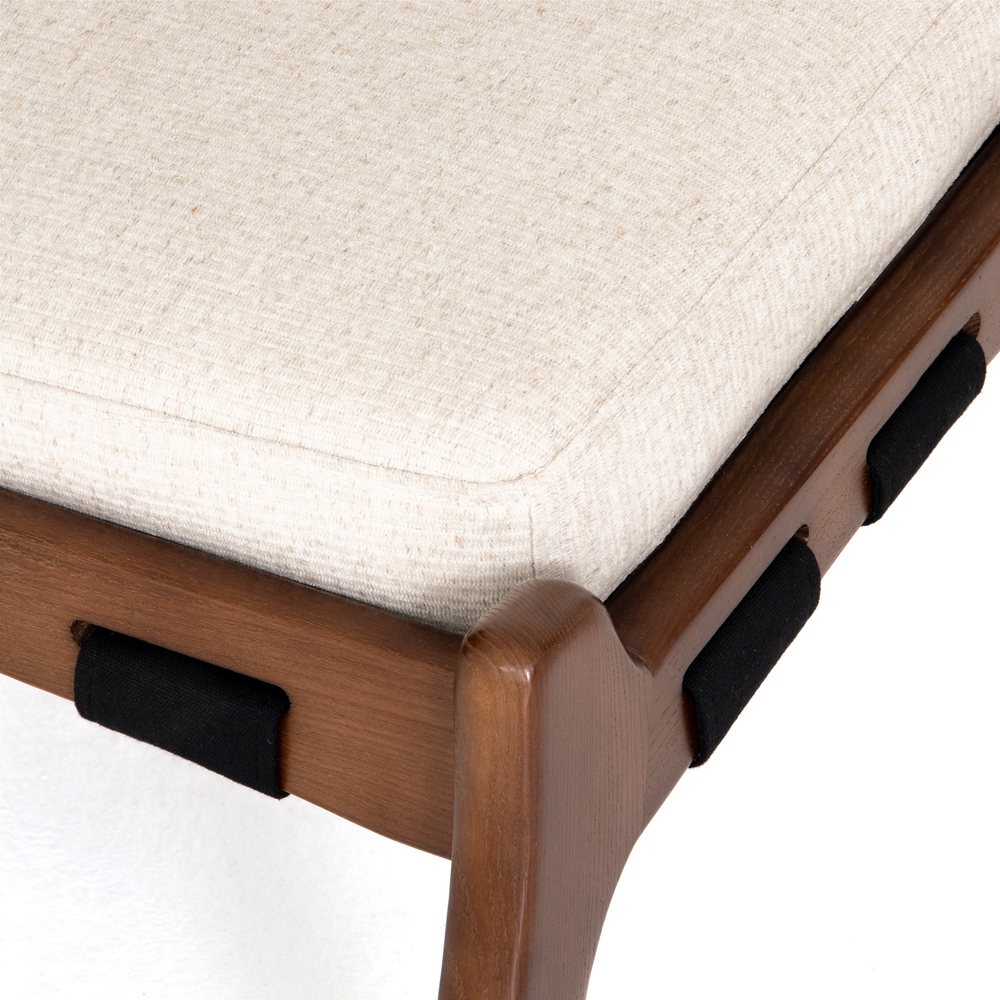 Four Hands - Silas Chair with Ottoman
