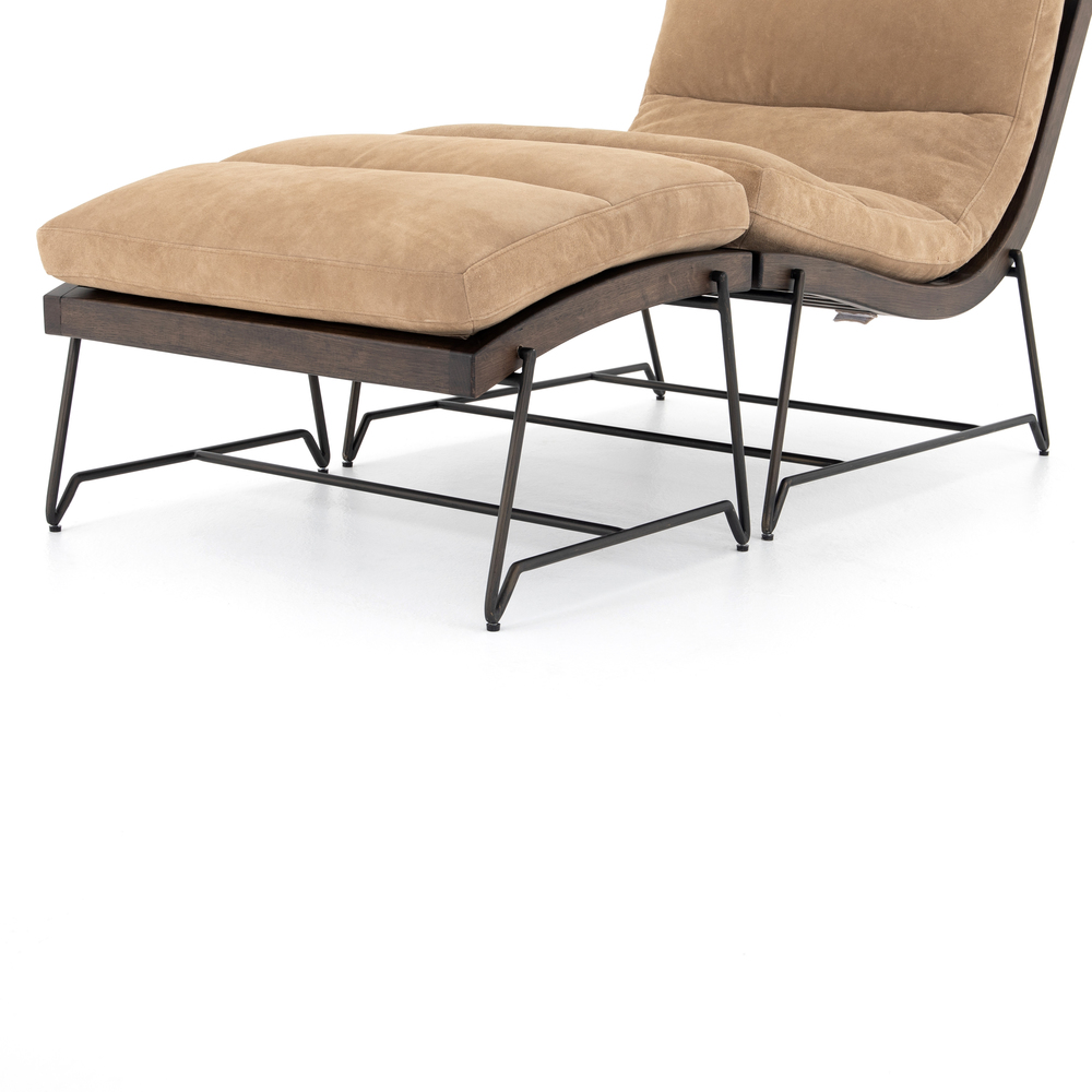 Four Hands - Beatrice Chair with Ottoman