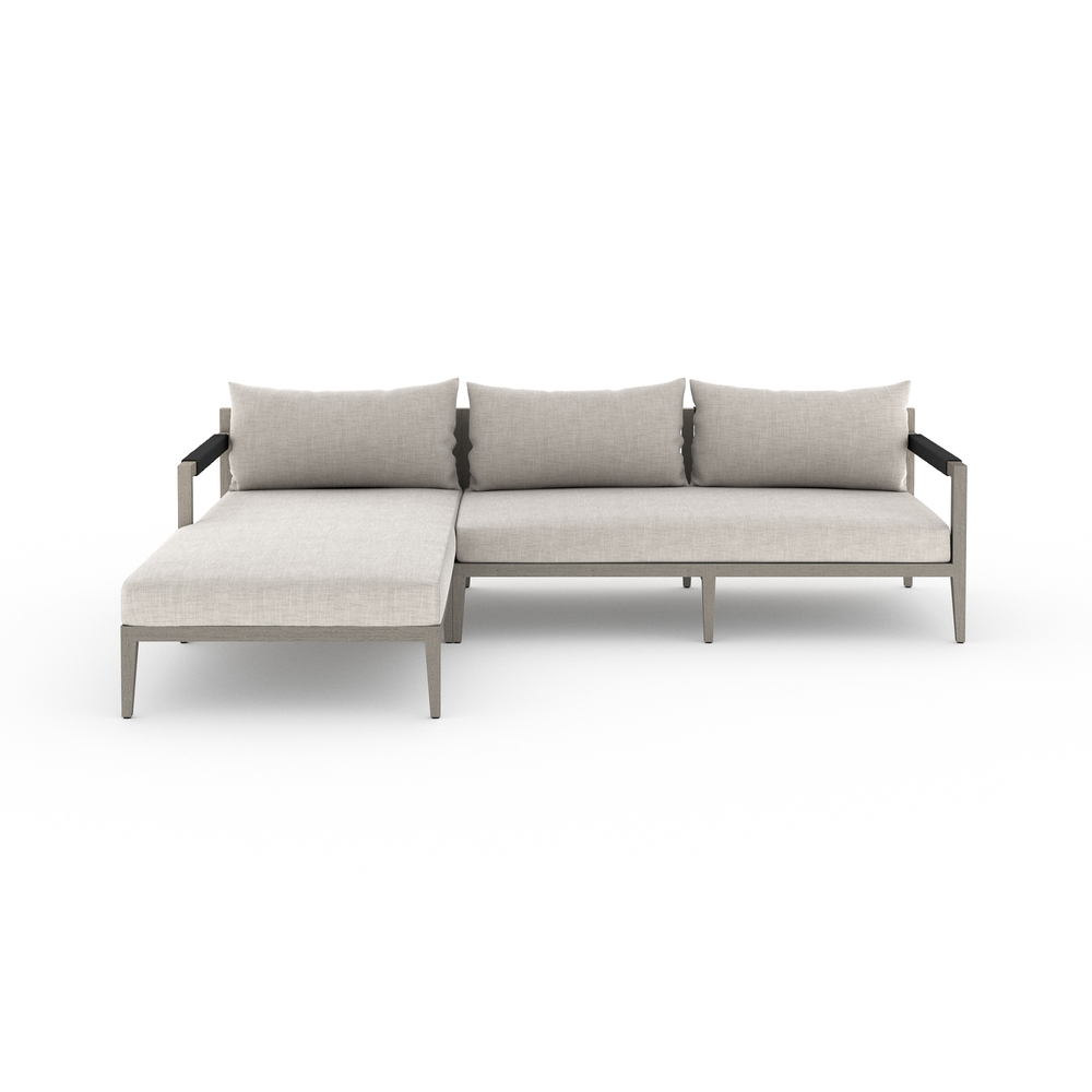 Four Hands - Sherwood Two Piece Sectional with Left Arm Facing Chaise
