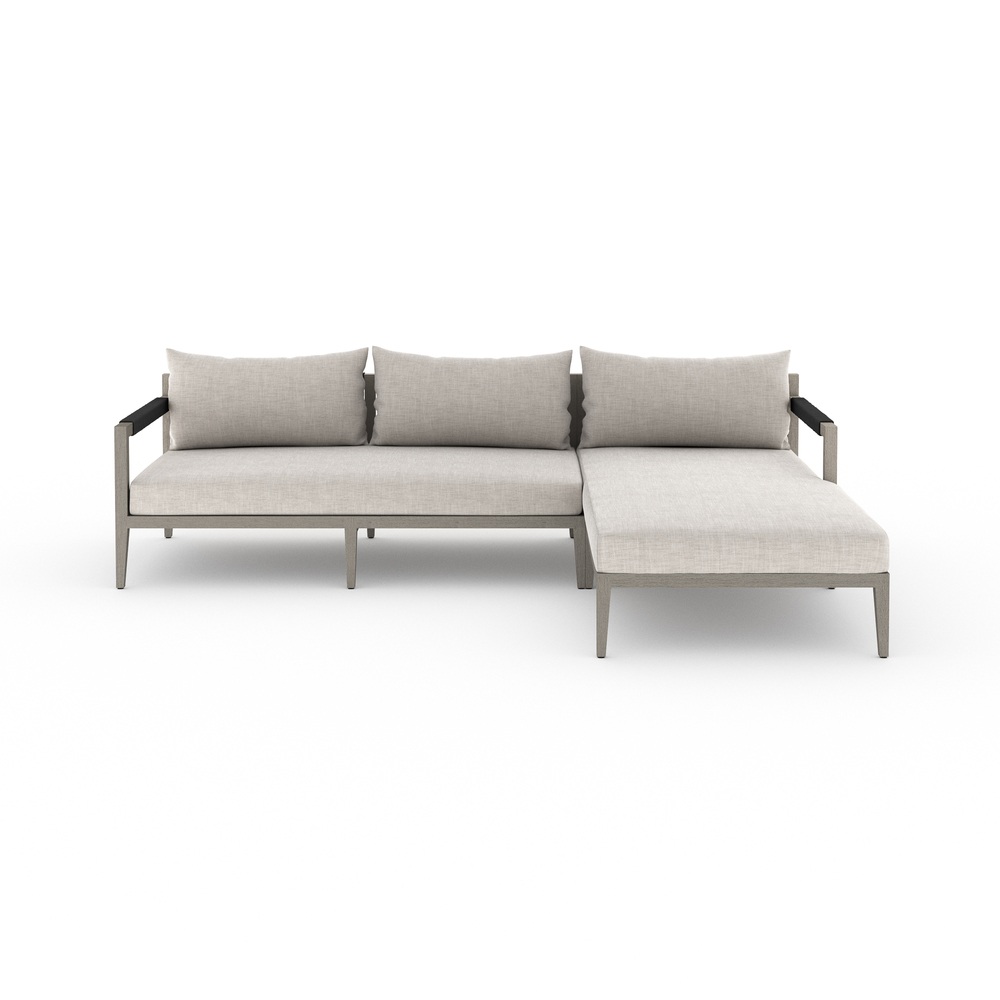 Four Hands - Sherwood Two Piece Sectional with Right Arm Facing Chaise