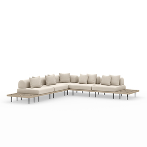 Thumbnail of Four Hands - Yves Five piece Sectional with End Table