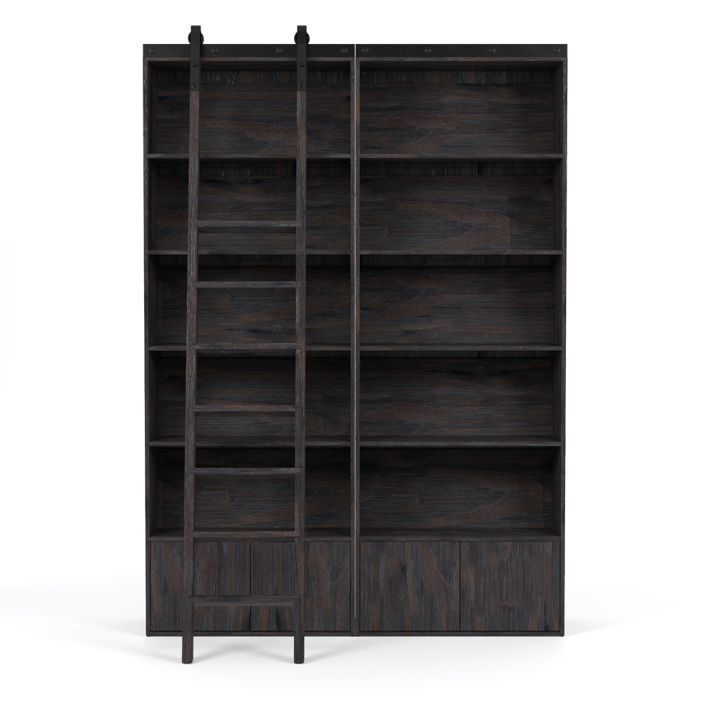 Four Hands - Bane Double Bookshelf with Ladder