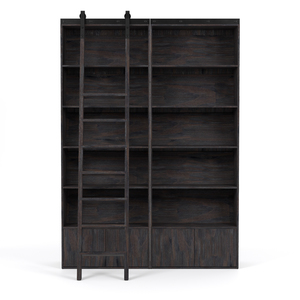 Thumbnail of Four Hands - Bane Double Bookshelf with Ladder