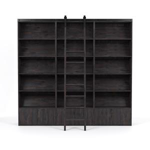 Thumbnail of Four Hands - Bane Triple Bookshelf with Ladder