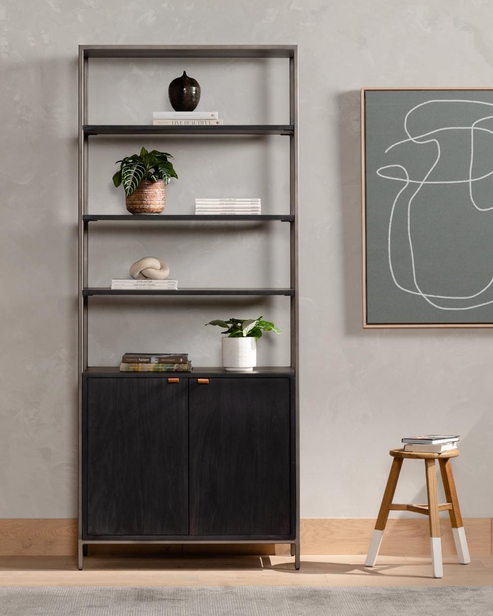 Four Hands - Trey Modular Wide Bookcase