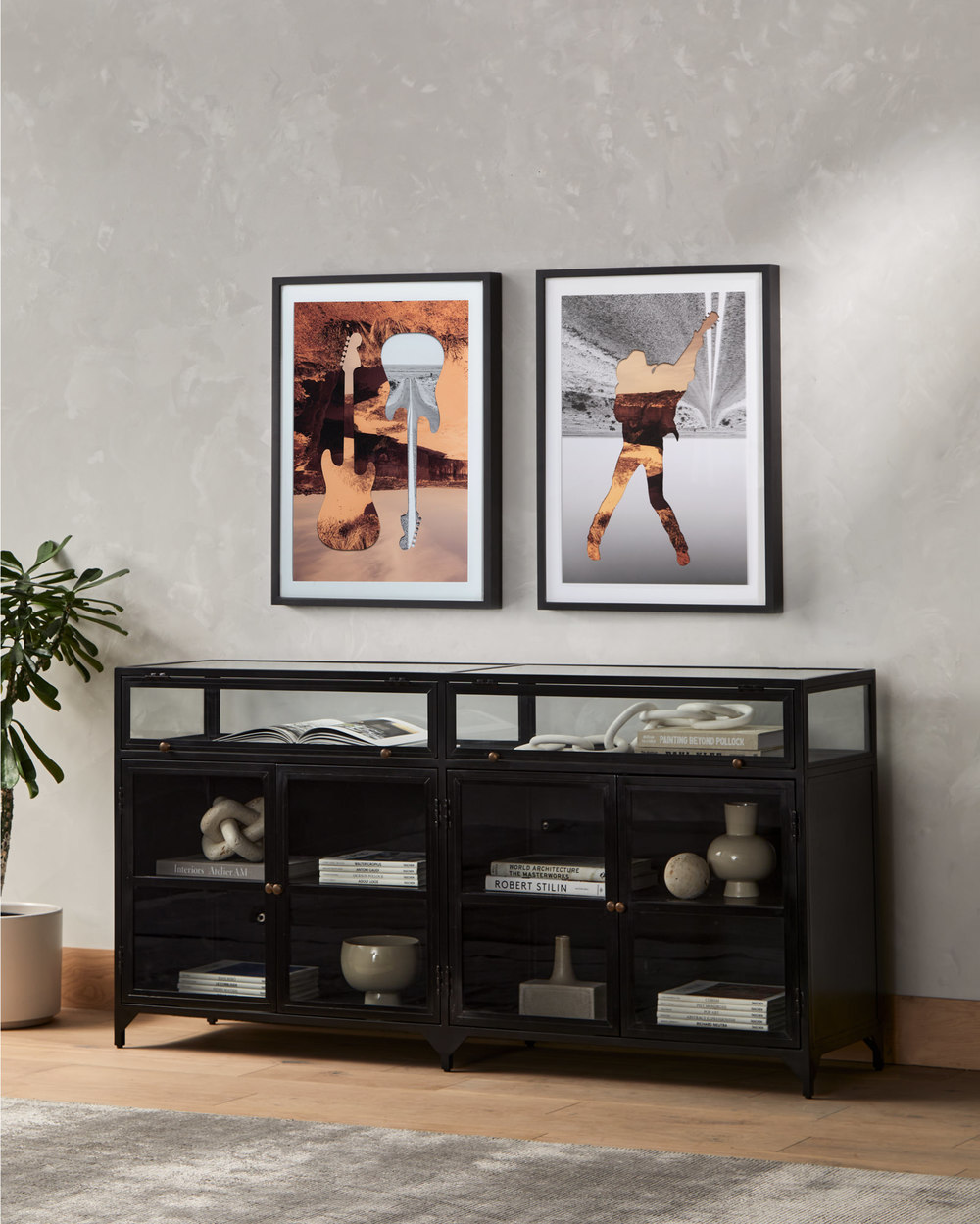 Four Hands - Shadow Box Sideboard