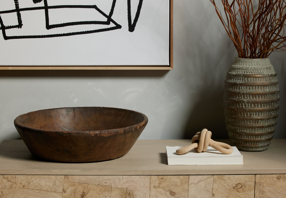 Four Hands - Found Wooden Bowl