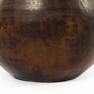 Thumbnail of Four Hands - Found Wooden Jar
