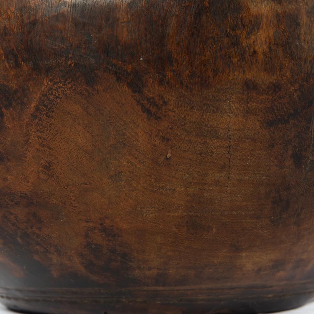 Four Hands - Found Wooden Jar