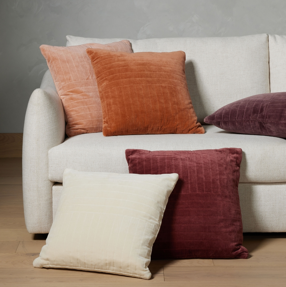 Four Hands - Channel Tufted 20x20 Pillow