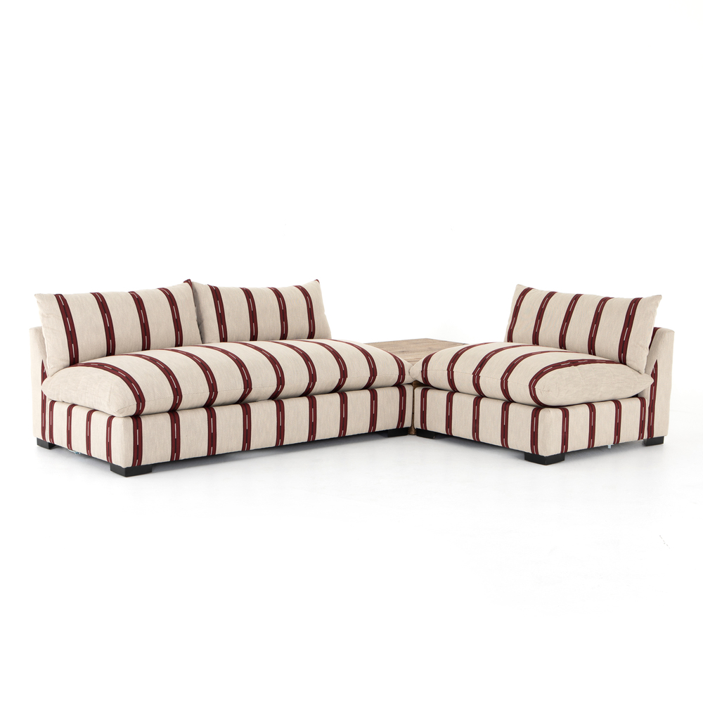 Four Hands - Grant Sectional with Chair and Corner piece
