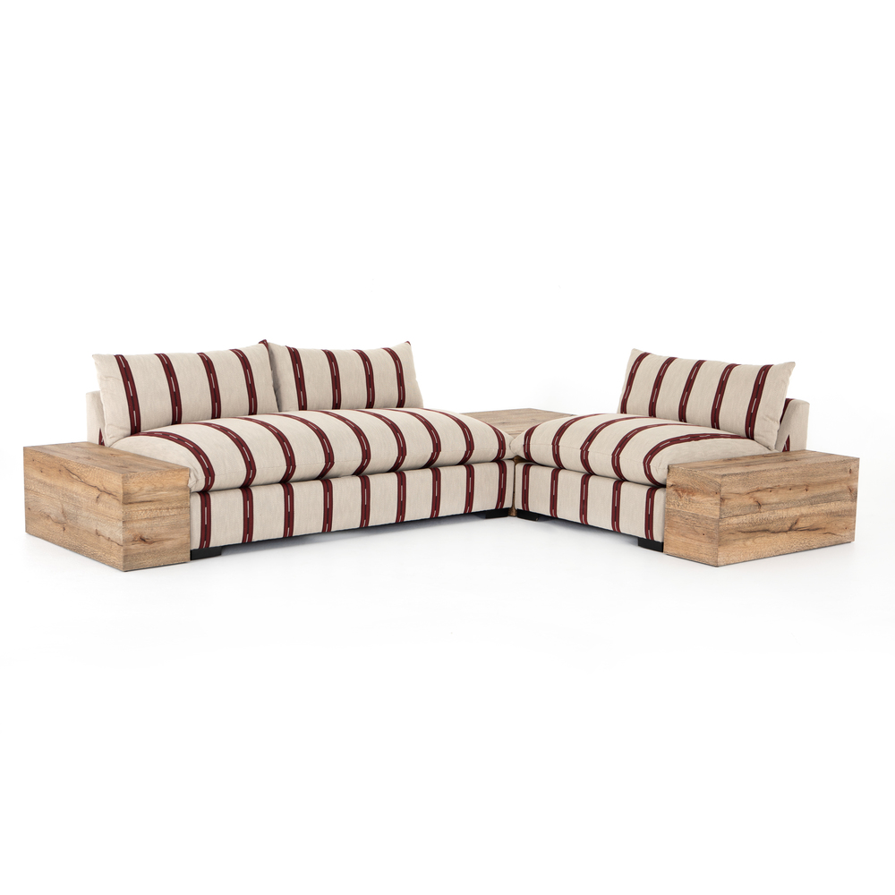 Four Hands - Grant Sectional with Chair, Corner and End Table