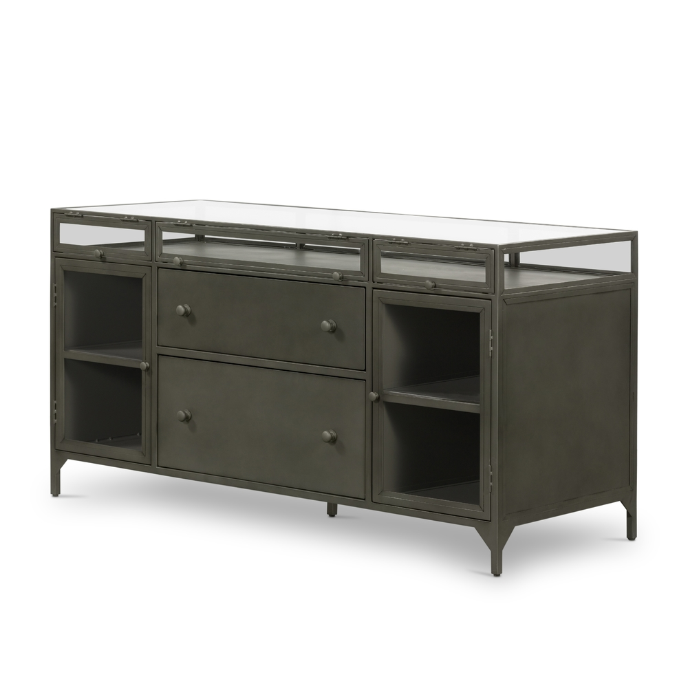 Four Hands - Shadow Box Modular Filing Credenza