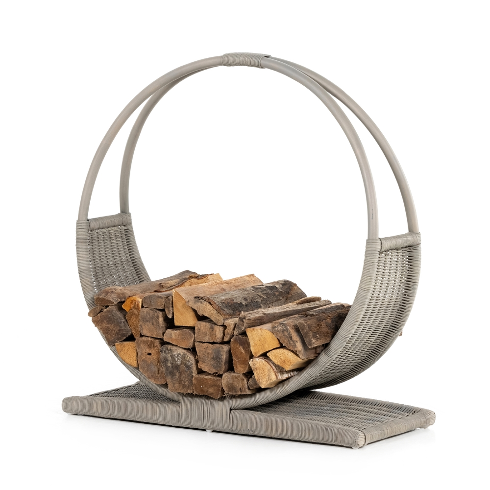Four Hands - Circle Log Storage