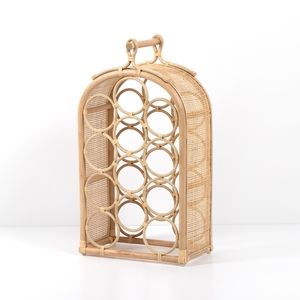 Thumbnail of Four Hands - Arched Rattan Wine Rack