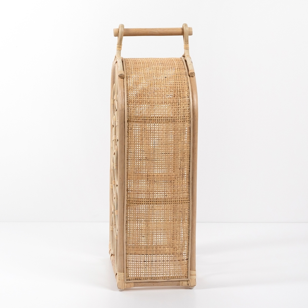 Four Hands - Arched Rattan Wine Rack