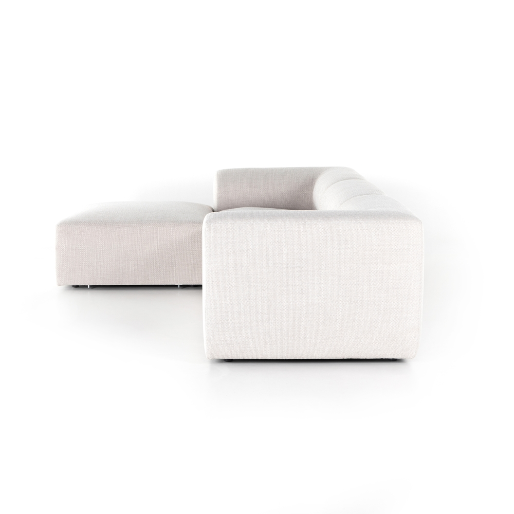Four Hands - Collins Sectional with Ottoman, Three Piece
