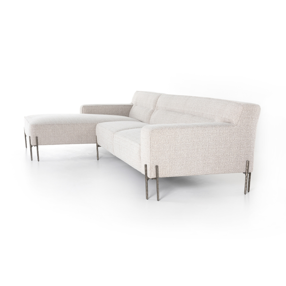 Four Hands - Elodie Sectional Left Arm Facing Chaise, Two Piece