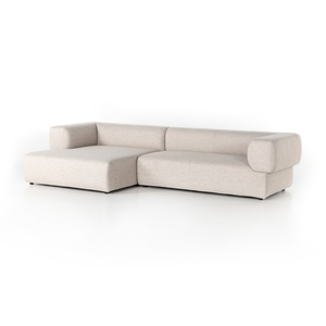 Thumbnail of Four Hands - Lisette Sectional Left Arm Facing Chaise, Two Piece