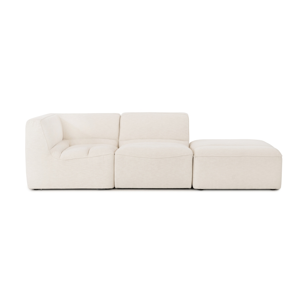 Four Hands - Cezanne 2 Piece Sectional with Ottoman