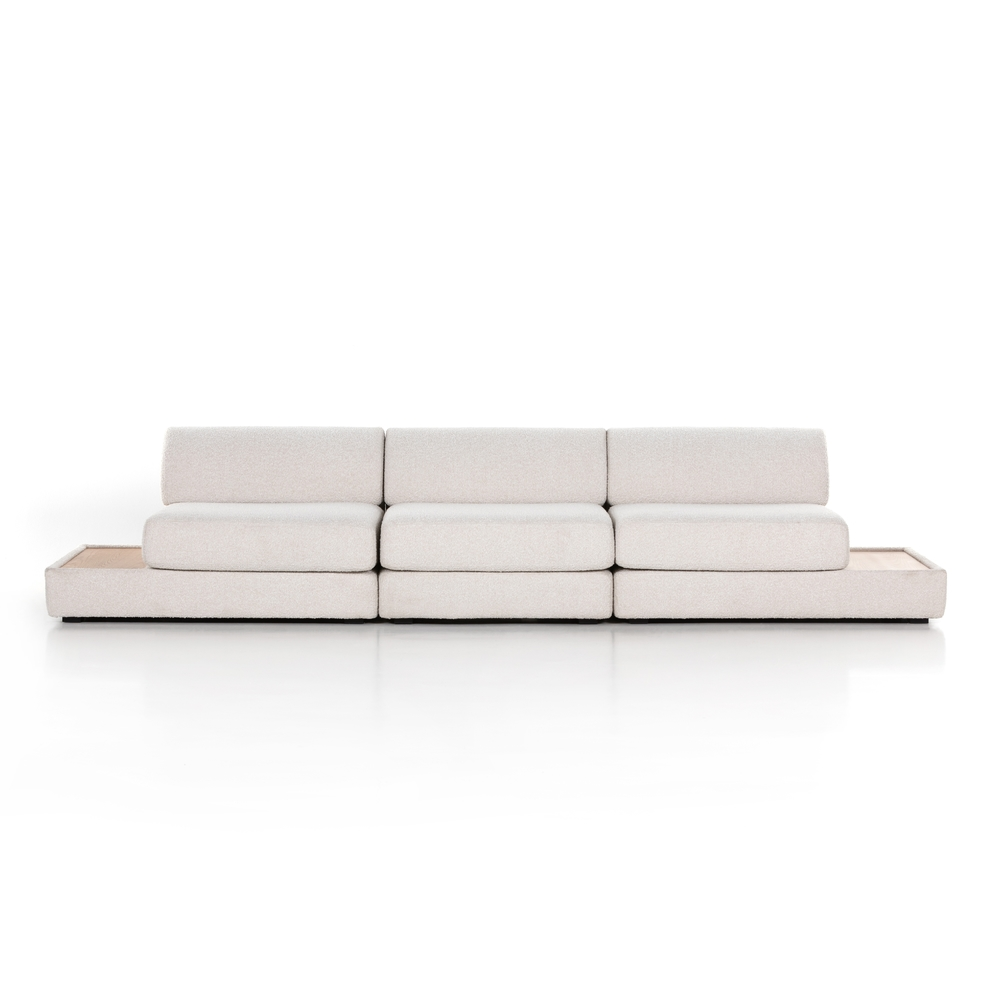 Four Hands - Gaiya 3 Piece Sectional with Tables