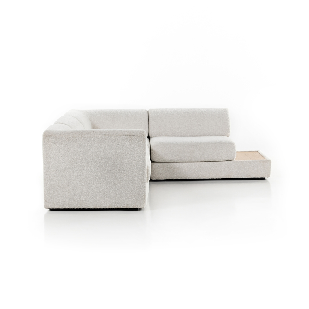 Four Hands - Gaiya 4 Piece Right Arm Facing Sectional with Table