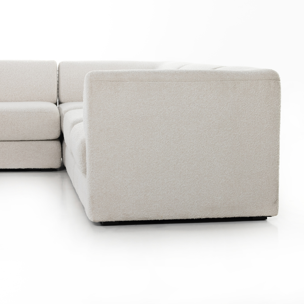Four Hands - Gaiya 4 Piece Left Arm Facing Sectional with Table