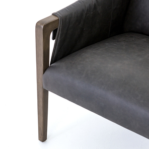 Thumbnail of FOUR HANDS - Bauer Leather Chair