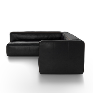 Thumbnail of Four Hands - Nolita Sectional Right Rider Black Kit