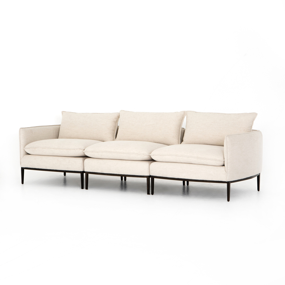 Four Hands - Donovan Three Piece Sectional