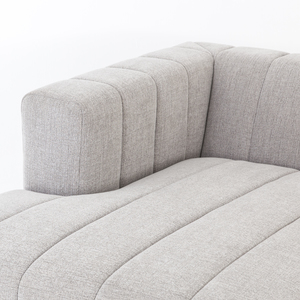 Thumbnail of Four Hands - Langham Channeled Three Piece Right Arm Facing Sectional with Ottoman
