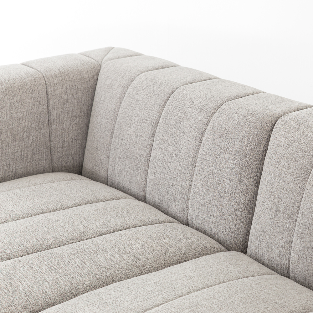 Four Hands - Langham Channeled Four Piece Sectional with Left Arm Facing Chaise