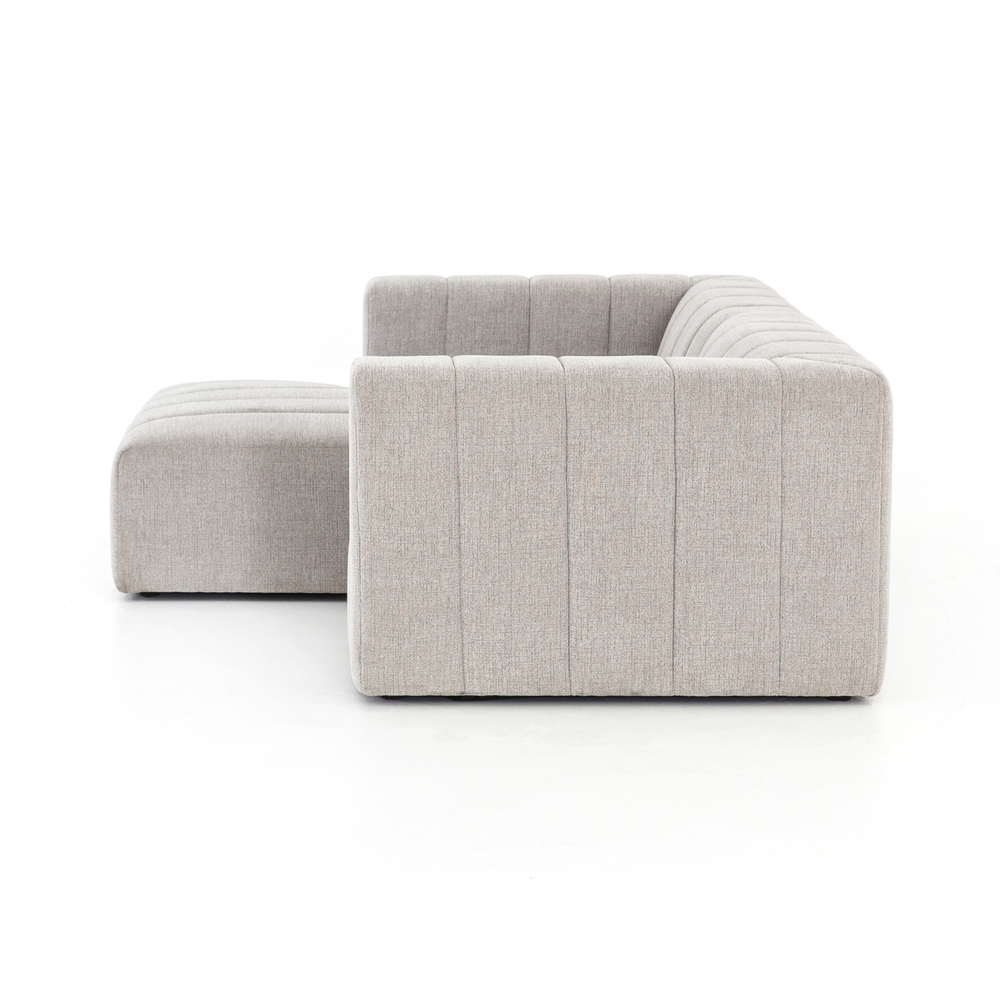 Four Hands - Langham Channeled Two Piece Sectional with Left Arm Facing Chaise