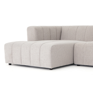 Thumbnail of Four Hands - Langham Channeled Five Piece Sectional with Left Arm Facing Chaise