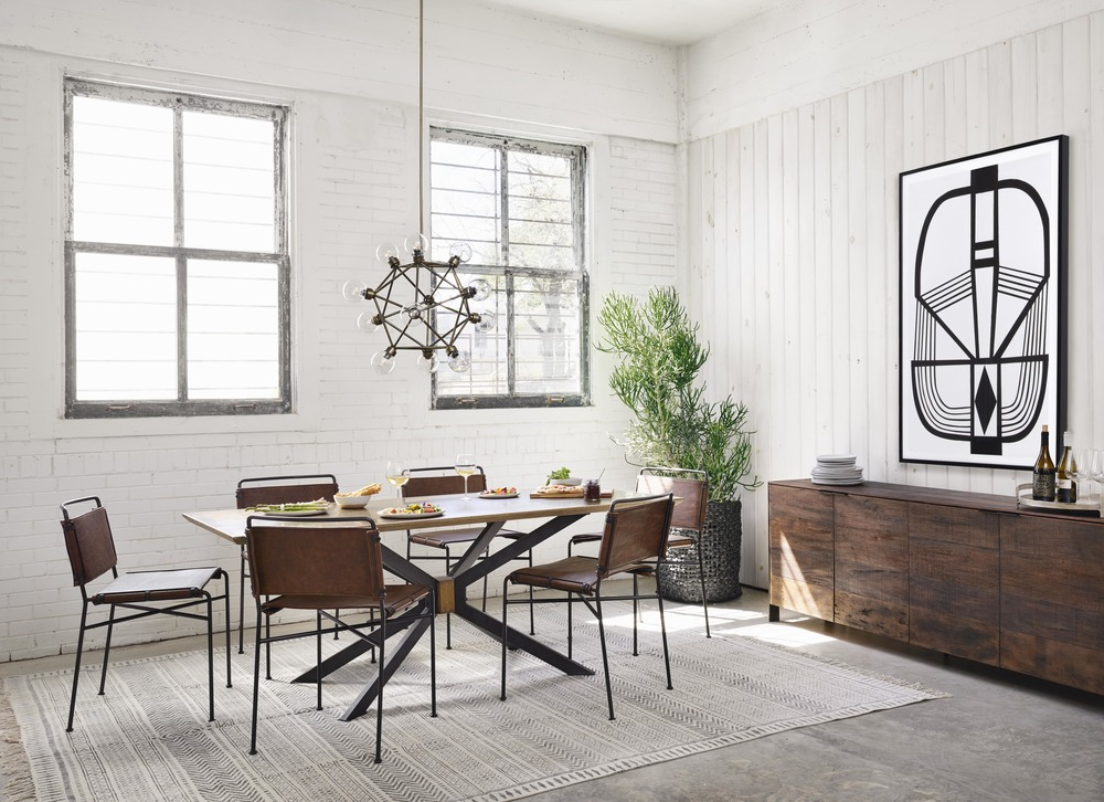 Four Hands - Spider Dining Table
