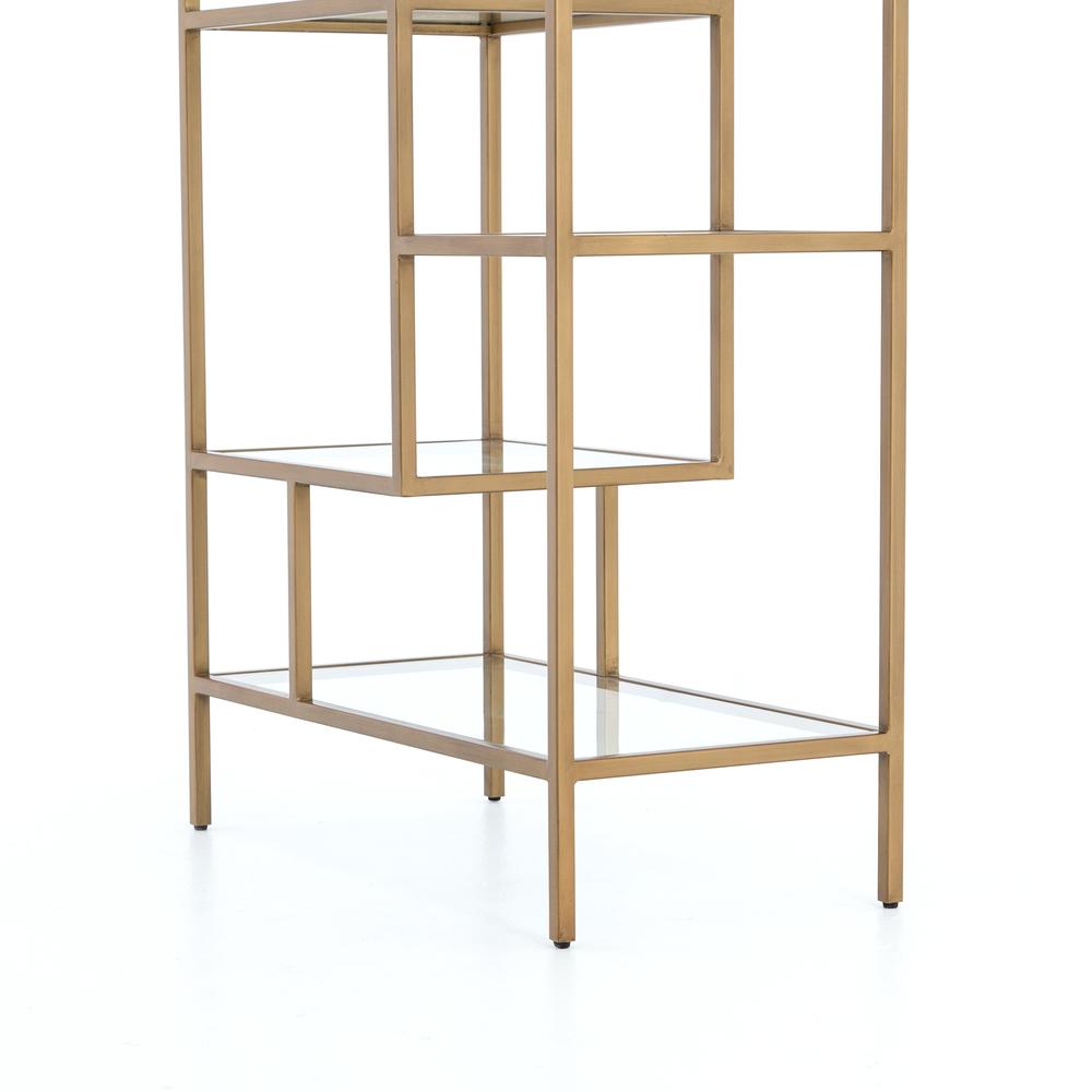 Four Hands - Helena Brass Bookshelf