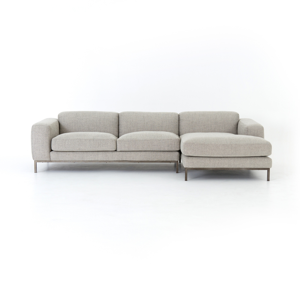 Four Hands - Benedict Two Piece Sectional with Right Arm Facing Chaise