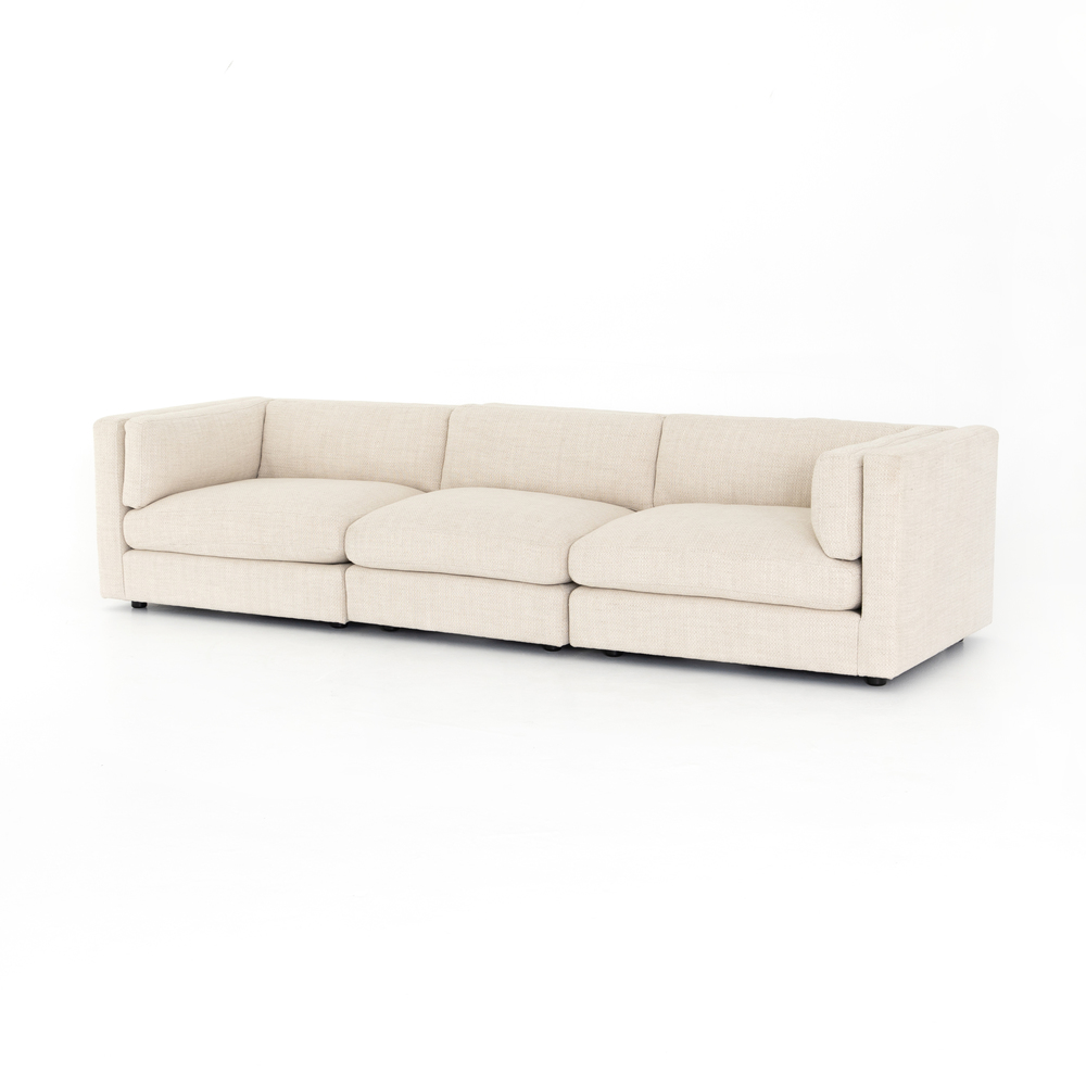 Four Hands - Cosette Three Piece Sectional
