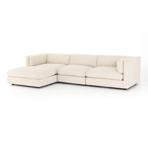 Thumbnail of Four Hands - Cosette Three Piece Sectional with Ottoman