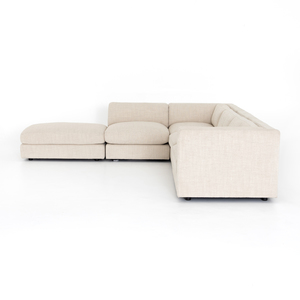 Thumbnail of Four Hands - Cosette Four Piece Right Arm Facing Sectional with Ottoman