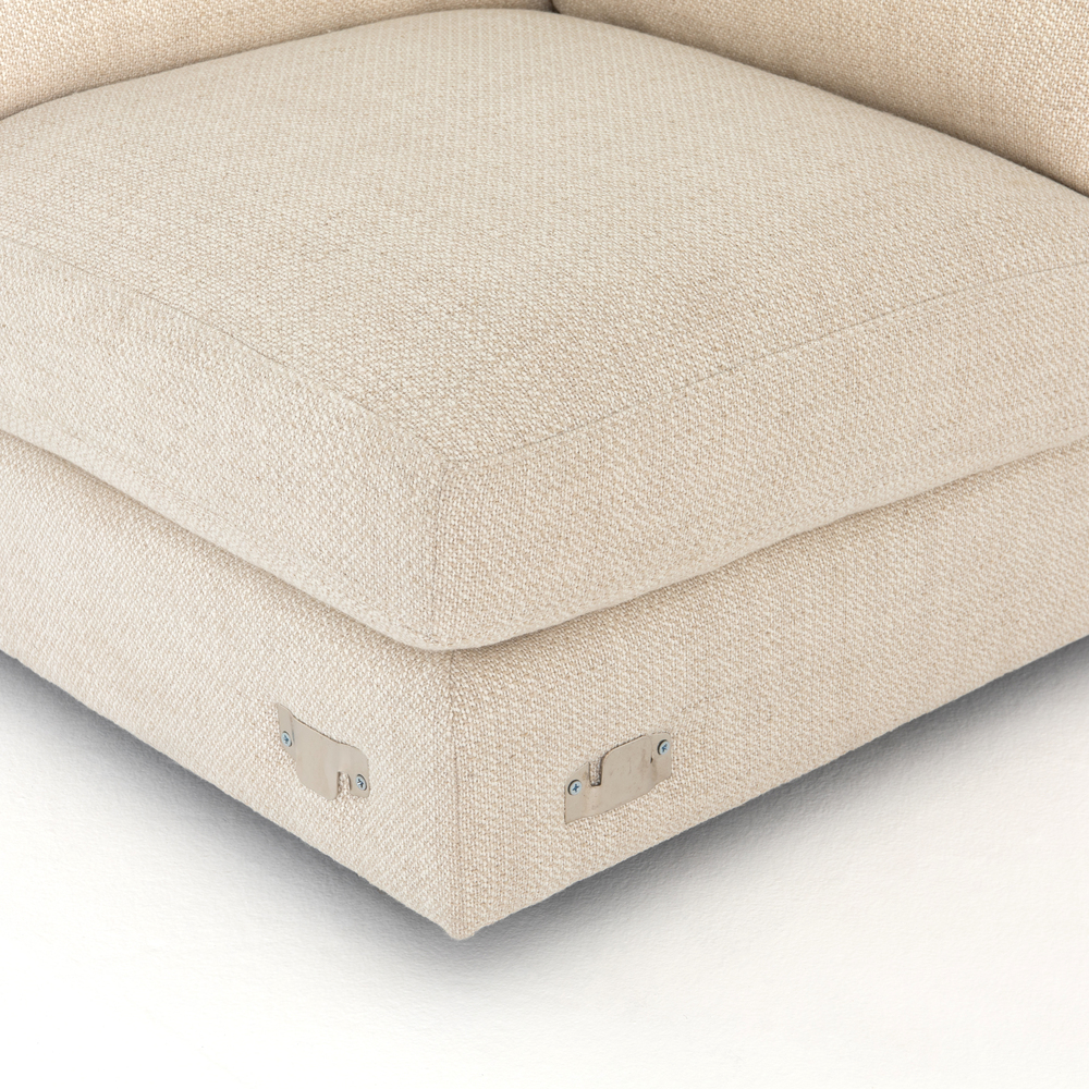 Four Hands - Cosette Four Piece Right Arm Facing Sectional with Ottoman