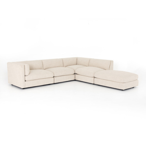 Thumbnail of Four Hands - Cosette Four Piece Left Arm Facing Sectional with Ottoman