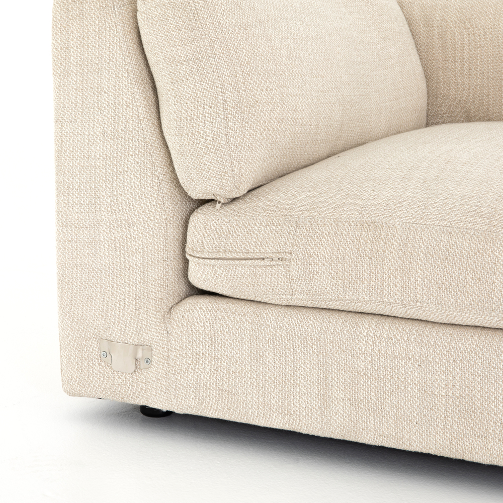 Four Hands - Cosette Four Piece Left Arm Facing Sectional with Ottoman